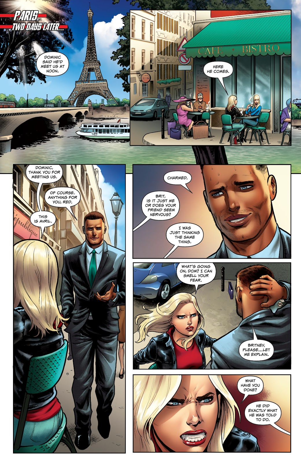 Read online Red Agent: Island of Dr Moreau comic -  Issue #1 - 9