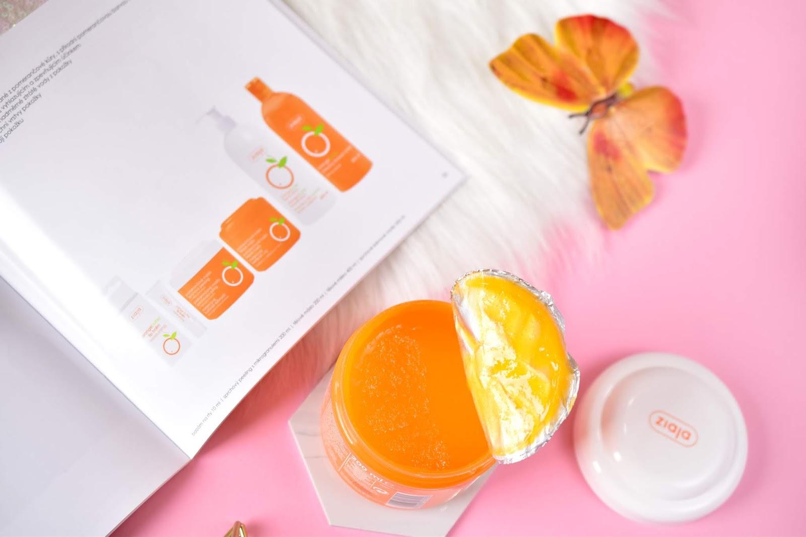 Ziaja Sprchový peeling pomarančové maslo
