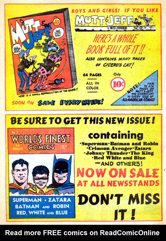 Read online All-American Comics (1939) comic -  Issue #28 - 20