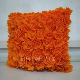 Bantal Kursi Bunga Mawar
