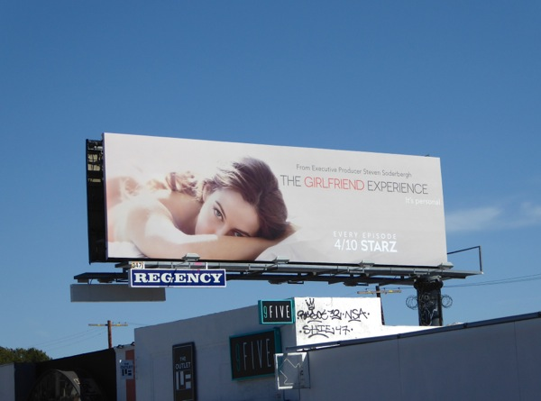 Girlfriend Experience season 1 billboard