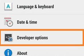 Cara Mengaktifkan Menu Developer Options pada Android