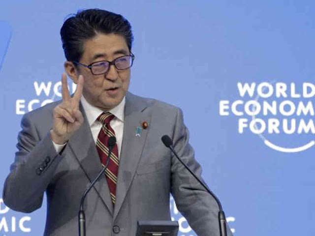 Japan's PM, Shinzo Abe Seeks Trade Reform as Risks to World Economy Loom