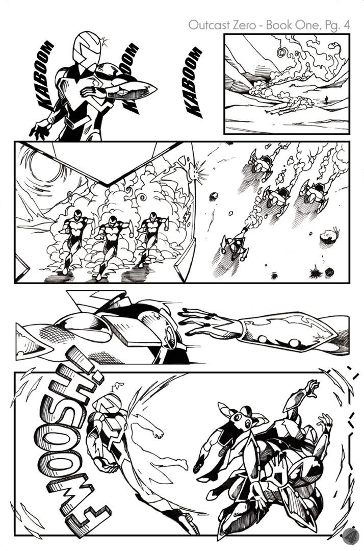 Dennis M. Sweatt Comic Book Creations and Design!: Outcast