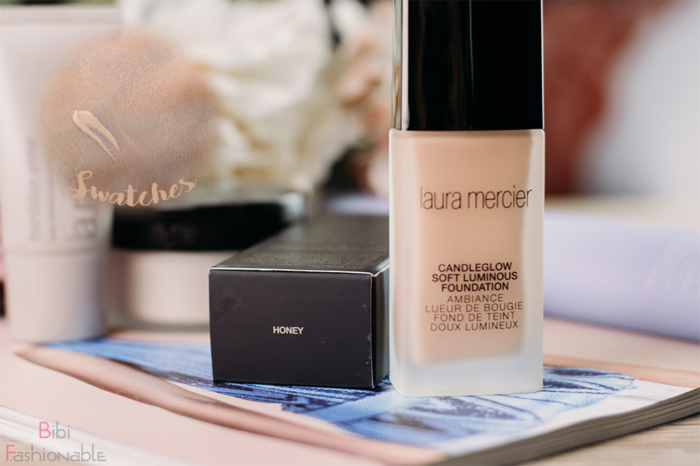 Laura Mercier Candleglow Soft Luminous Foundation inkl Swatches