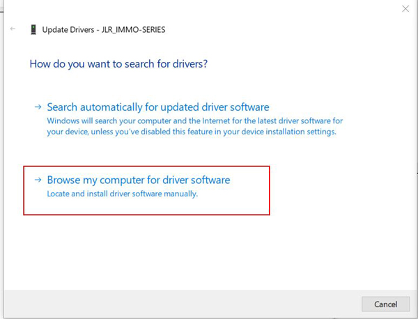Installation instruction for JLR_IMMO driver