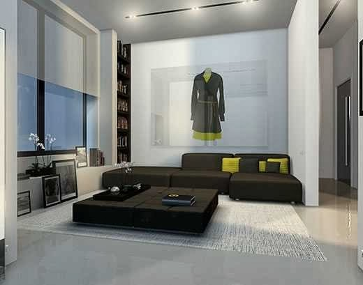 cool modern minimalist apartment design | Modern Minimalist Flat Interior Design - AyanaHouse