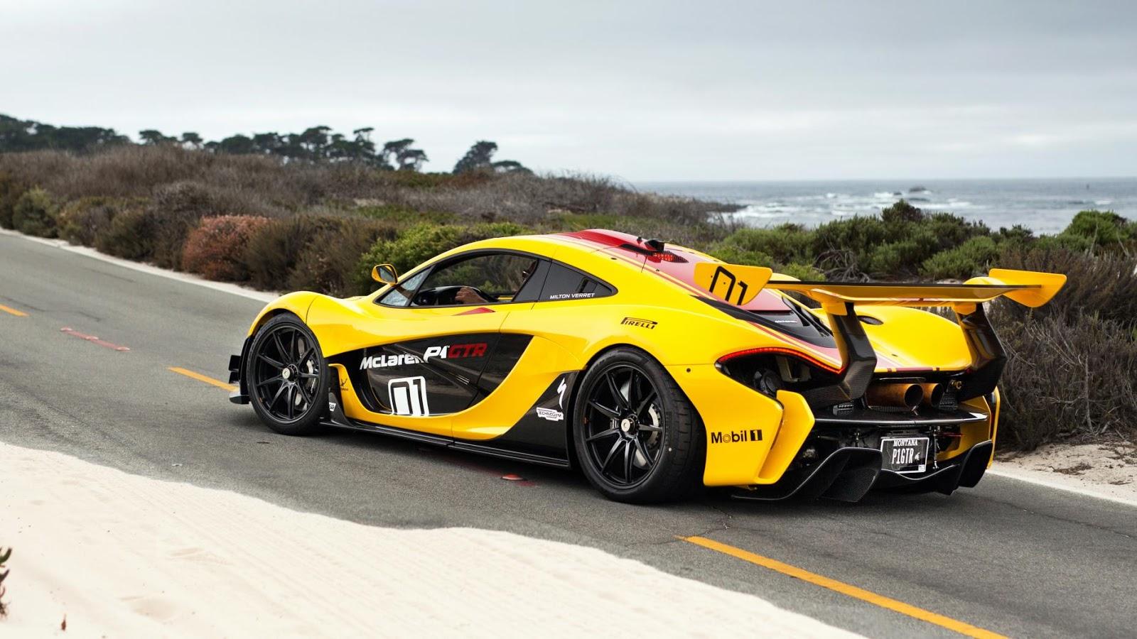Siêu xe McLaren P1 GTR - Siêu xe đỉnh cao nhất của McLaren cũng xuất hiện tại Cali