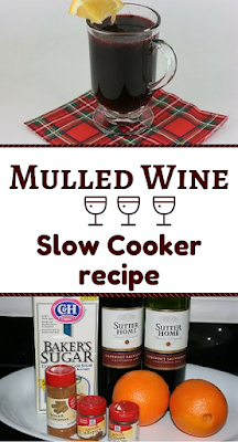 Fantastic party drink. Put the ingredients in your slow cooker, and let guests ladle out their own servings. Use red wine, fresh orange juice, allspice, cinnamon, and cloves. Super fun crockpot recipe for the holidays!