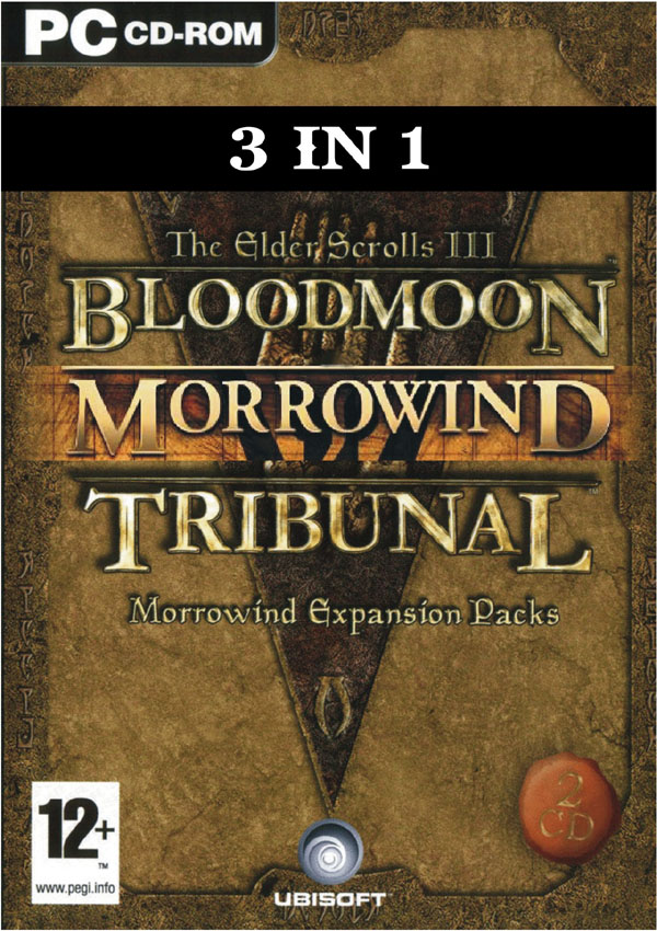 The Elder Scrolls III Morrowind Tribunal Bloodmoon Download Cover Free Game