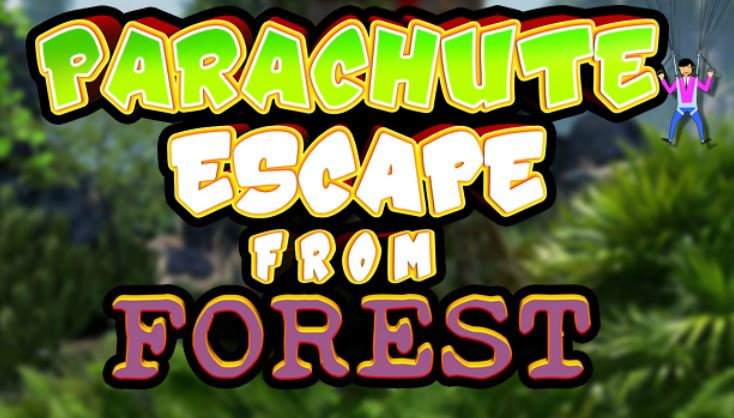 KnfGames Parachute Escape from Forest Walkthrough