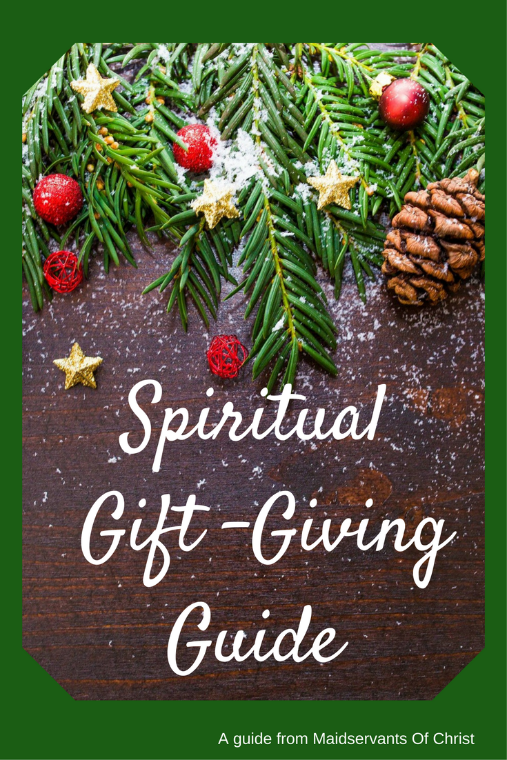 Workbooks spiritual gifts workbook : Maidservants of Christ: Spiritual Gift-Giving Guide