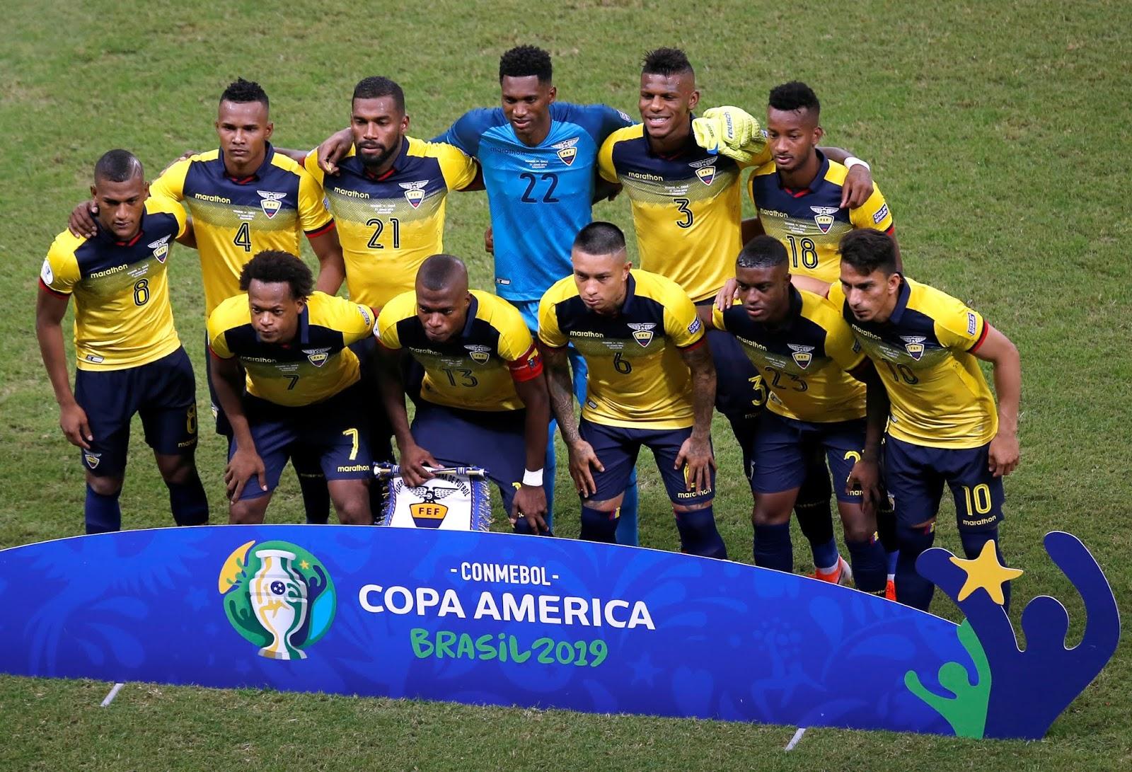 Formación de Ecuador ante Chile, Copa América 2019, 21 de junio
