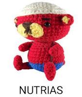PATRONES NUTRIAS AMIGURUMI