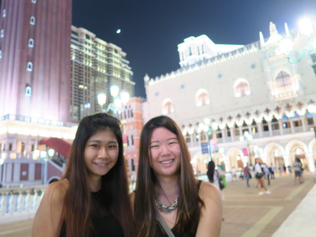 welfie at venetian