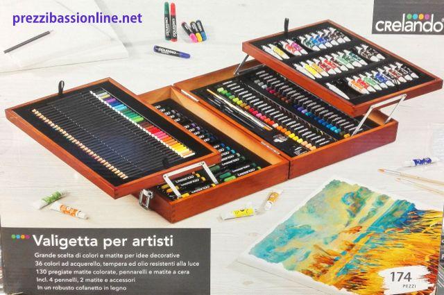 Prezzi Bassi Online Valigetta Per Dipingere E Colorare Con Colori E