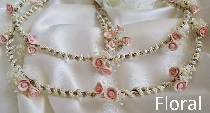 Stefana floral crowns for wedding