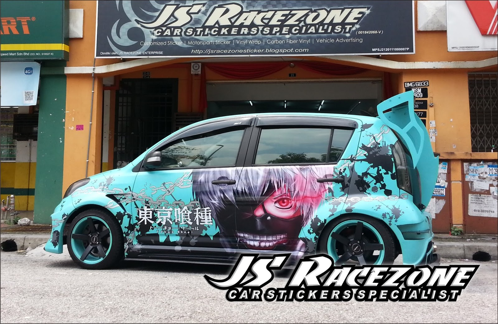 Car sticker designs images - Car Sticker Design Shop Posted By Js Racezone Stickers Shop At 2 06 Am No