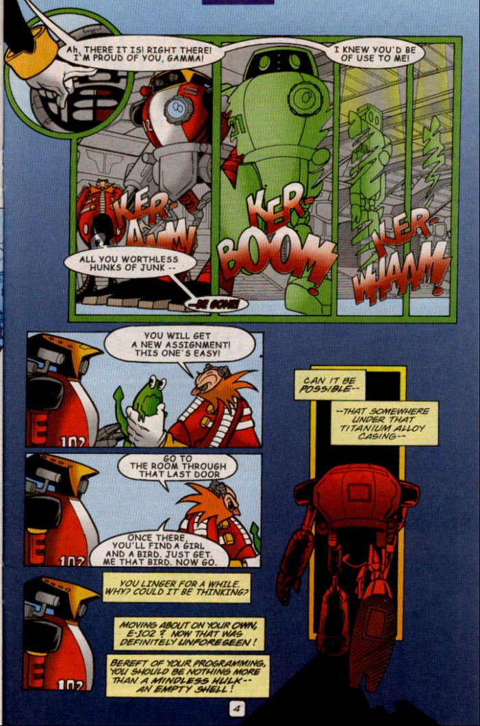 Read online Sonic The Hedgehog comic -  Issue #82 - 20