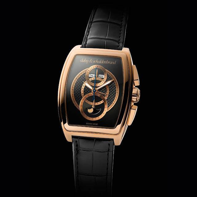 Dubey & Schaldenbrand Grand Dôme DT Rose Gold Watch