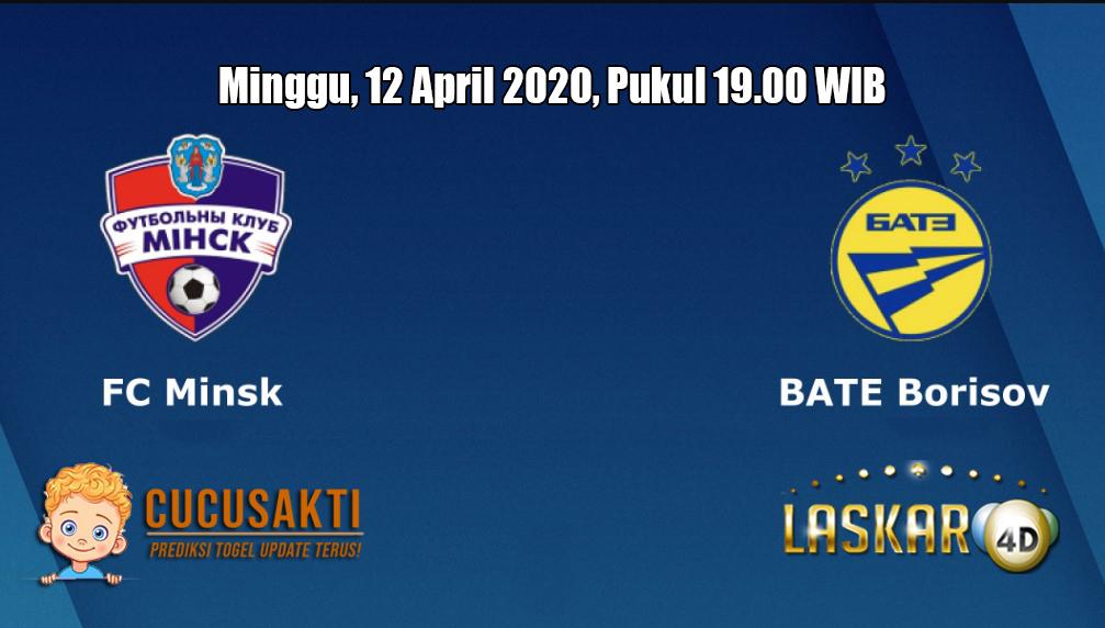 Prediksi FC Minsk VS BATE Borisov 12 April 2020