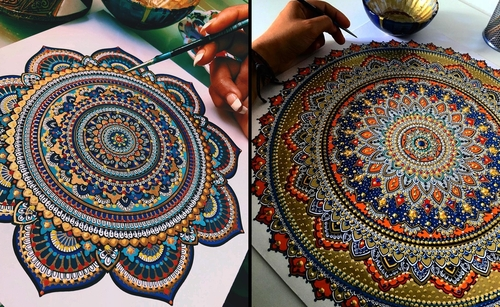 00-Asmahan-Mosleh-Mandala-Drawn-and-then-Painted-with-Color-Themes-www-designstack-co