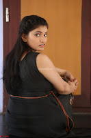 Khanishka new telugu actress in Black Dress Spicy Pics 01.JPG