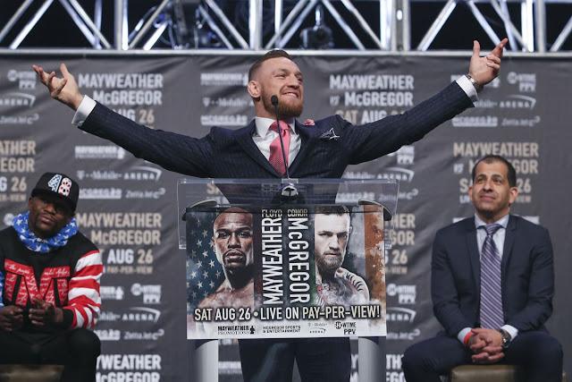 Conor McGregor won't return to UFC