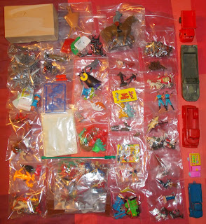 Contribution; Donations; How They Come In; Job Lot; Mixed Lot; Mixed Playthings; Mixed Toys; Recent Purchases; Show Plunder; Show Reports; Small Scale World; smallscaleworld.blogspot.com; 1 Sandown Park Toy Fair Show Plunder DSCN9740