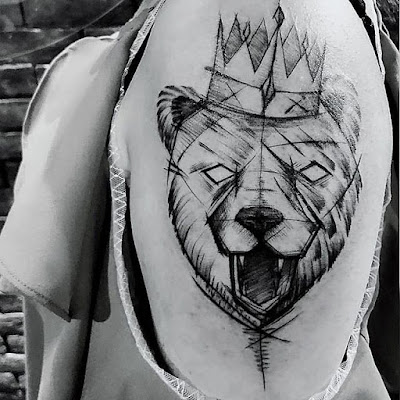 bear tattoo unique designs