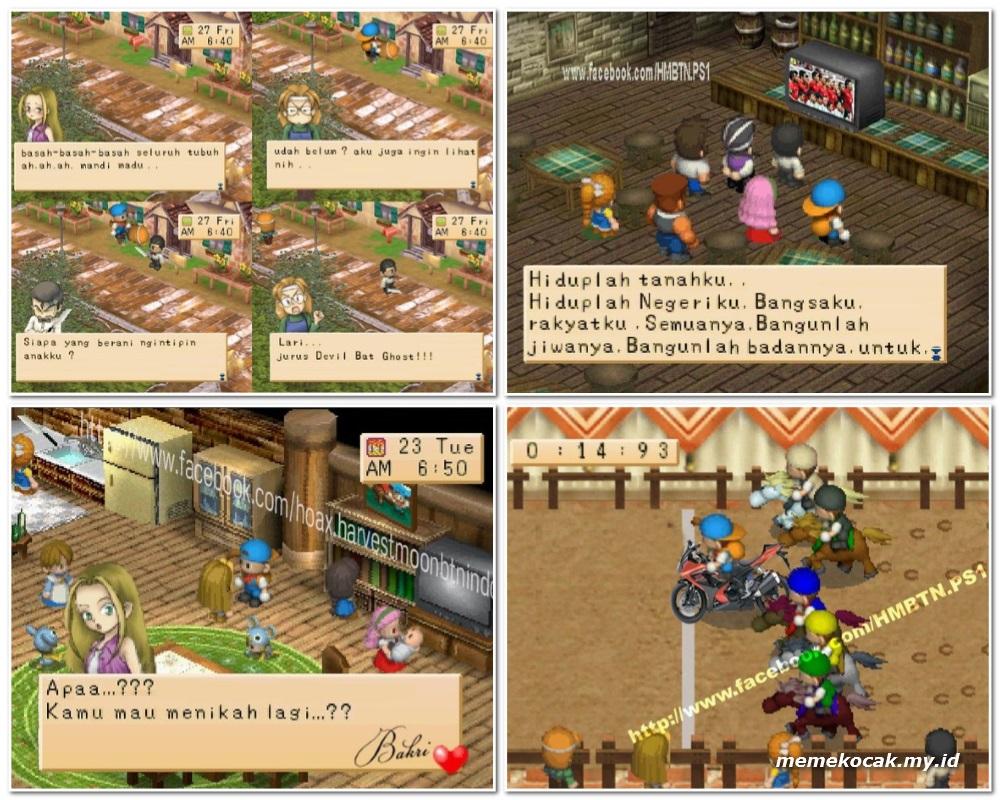 50 Gambar Meme Lucu Editan Game Harvest Moon Meme Kocak