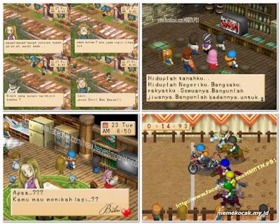 50 Gambar Meme Lucu Editan Game Harvest Moon