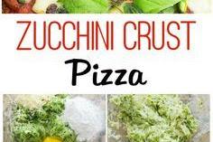 Recipe - Zucchini Crust Pizza
