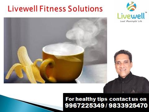 वजन नियंत्रणात ठेवण्यासाठी केळी आणि गरम पाण्याचे करा नियमित सेवन