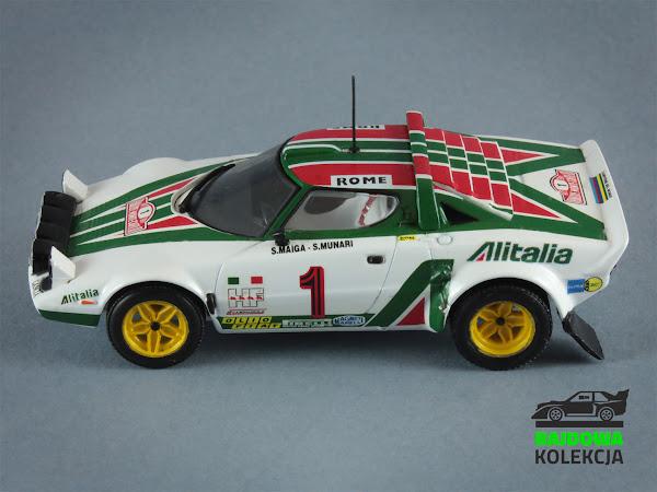 Minichamps Lancia Stratos Winner Rallye Monte Carlo 1977