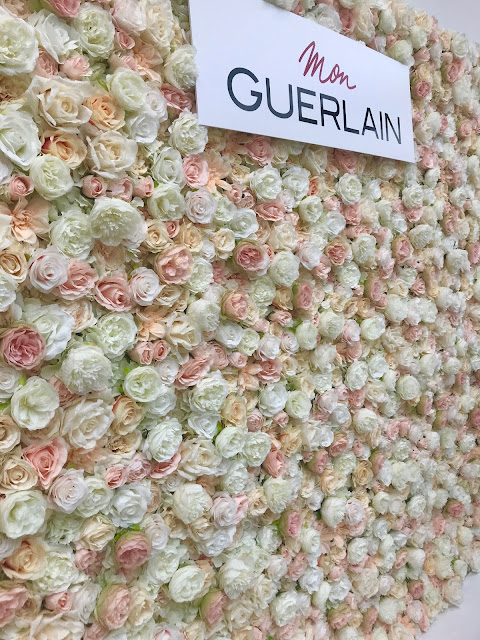 Glamour Beauty Festival 2018 - Guerlain Flower Wall