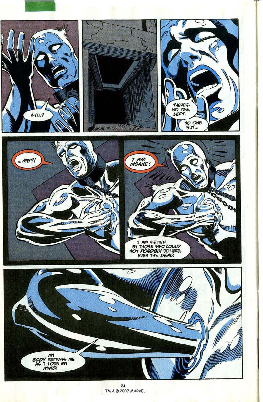 Read online Silver Surfer (1987) comic -  Issue #58 - 26