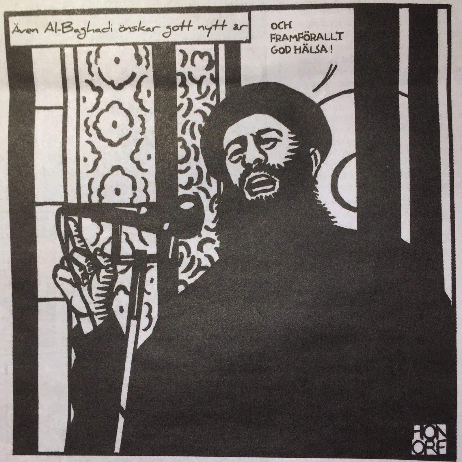 Danmark bakom karikatyrkrisen 2