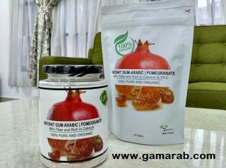 Arabic Gum Berperisa-Viscera