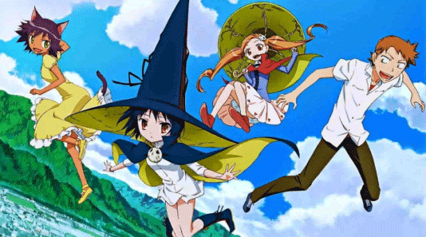 Majimoji Rurumo - Top Fantasy School Anime List