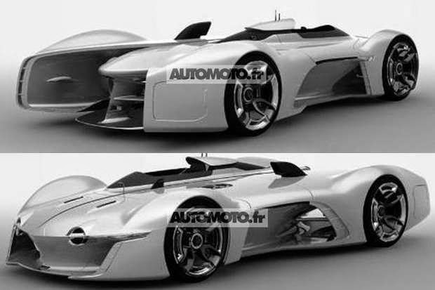 The Rendering Images Of Renault Alpine Vision Gt Leaked