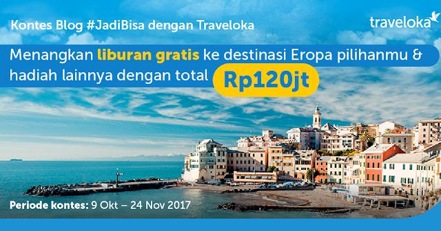 Kontes Blog #JadiBisa dengan Traveloka