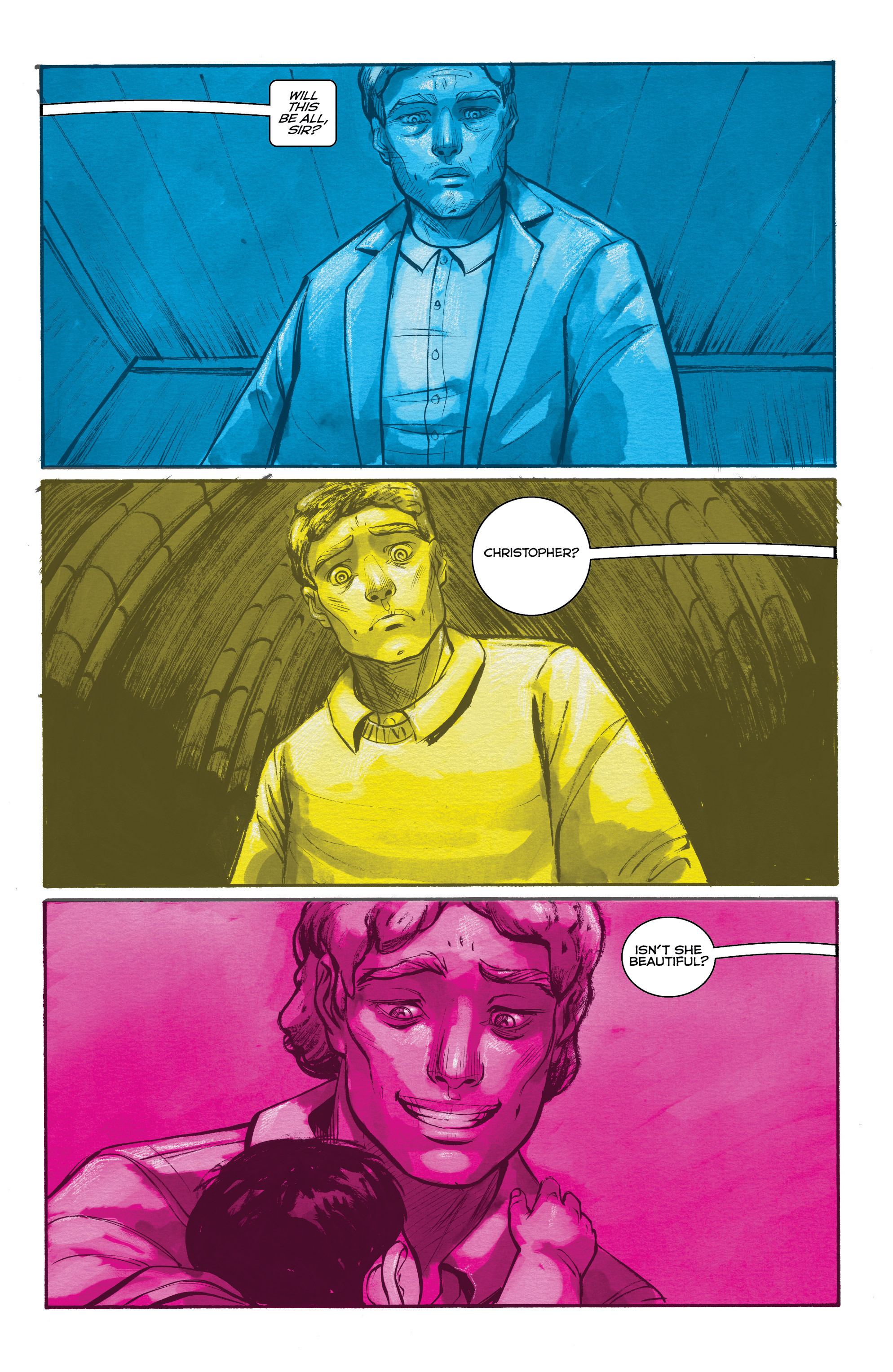 Read online Shutter comic -  Issue #19 - 5