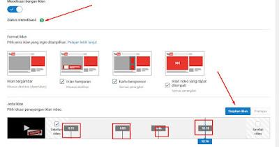 Cara Meningkatkan Penghasilan Youtube Dengan Cara memperbanyak Jumlah Iklan
