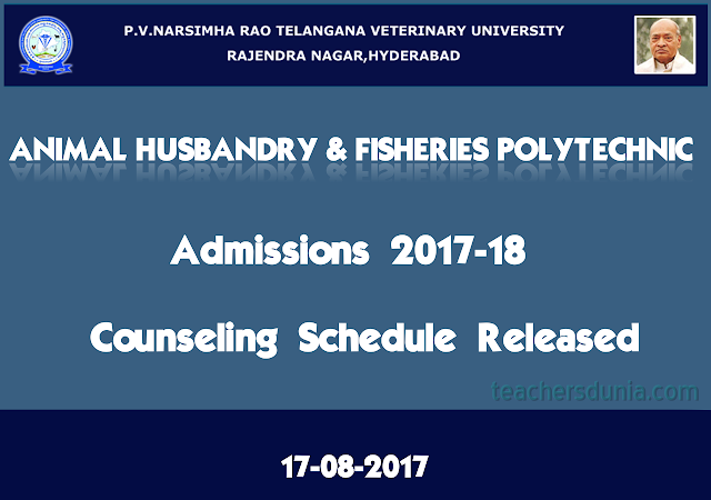 PVNRTVU-AHP-counselling-Schedule