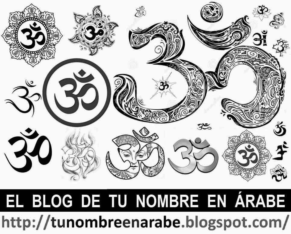 Diseños con Om para tatuajes