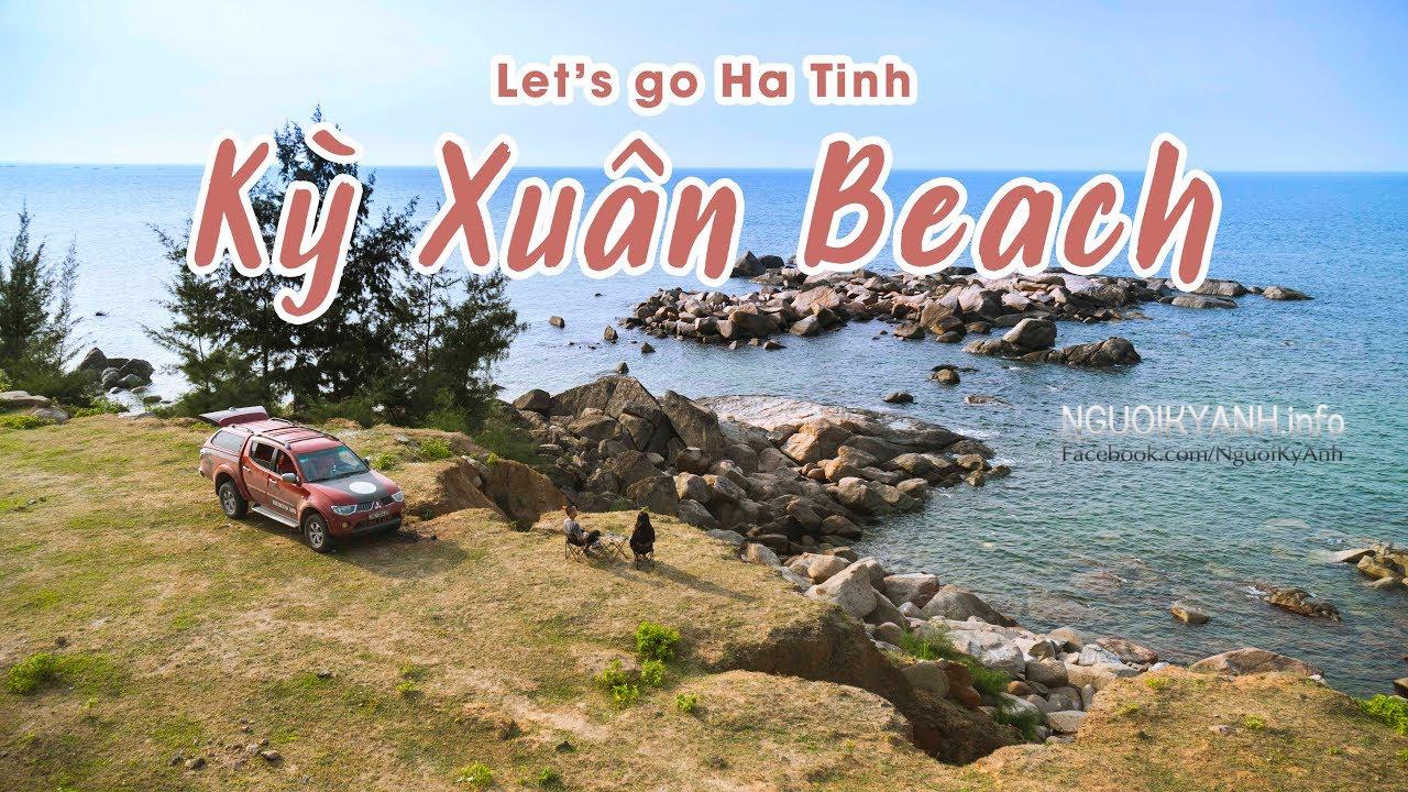 Biển Kỳ Xuân và con đường ven biển đẹp nhất Bắc Trung Bộ