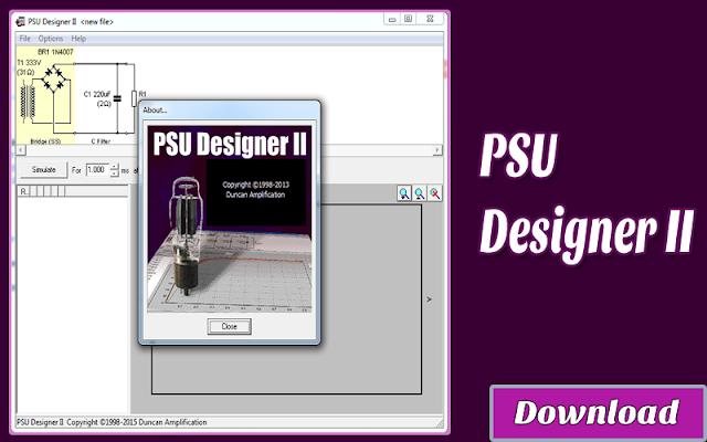 Download PSU Designer II | Kalkulator / Info & Softwares Elektronika