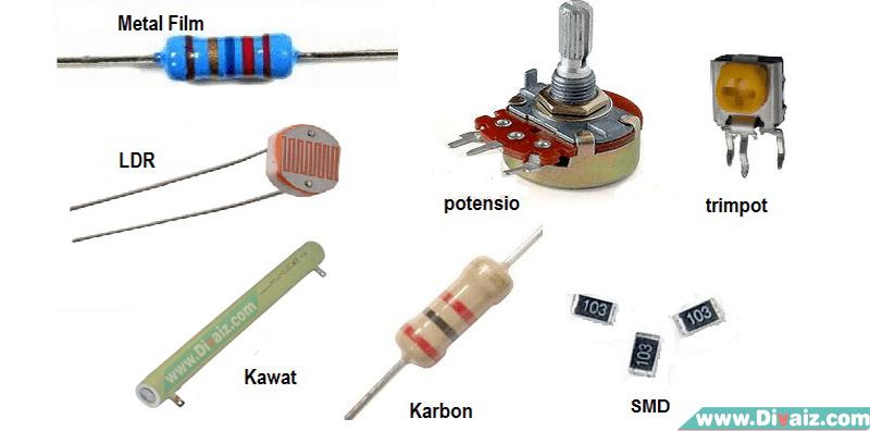 Jenis - Jenis Resistor Yang Ada Pada Rangkaian Elektronika