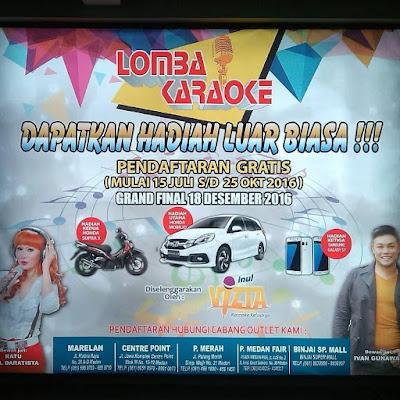 Lomba Karaoke Inul Vizta Medan